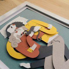 #papercut #illustration