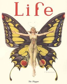 lifetheflapper.jpg (JPEG Image, 380 × 473 pixels) #illustration #leyendecker