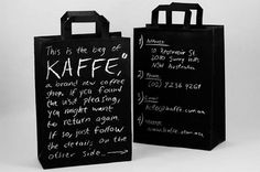 "Kaffe"" Coffee shop branding - Jared Erickson 