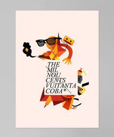 The 1980's | Estudio coba #tipografia #diseo #lettering #estudi #tipography #de #ilustraci #estudio #ilustration #disseny #ilustracion