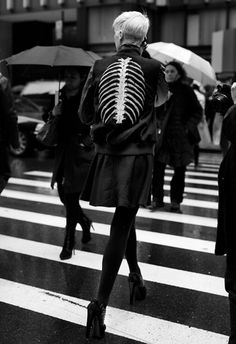 21612SeventhAve_1955Web.jpg (JPEG Image, 590 × 860 pixels) #fashion #skeleton #photography #black