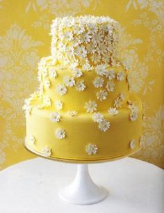 Beautiful Floral Birthday Cake Photos