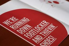 It was a good week. on the Behance Network #red #riots #london #occupy #book #type