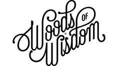ALICIA LOVES PARIS: Woods of Wisdom #typography #script