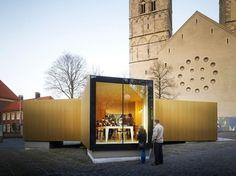 Galería en: Pabellón modulorbeat en Munster / Golden Splendor - arquitectura y los arquitectos - Noticias / Actualidad / Noticias - BauNet #modulorbeat