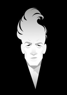 All sizes | david lynch | Flickr - Photo Sharing! #illustration #white #black #david lynch #stanley chow