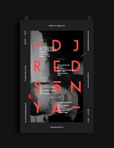 Dj Red Sonya Flyer #red #futura #party #mexico #event #music #space #black #grid #poster #modernism #new
