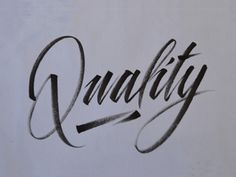 Q_dr #calligraphy