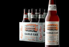 Cable Car #beer #packaging #print #label #bottles