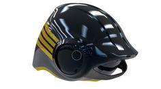 Del Rosario motorcycle helmet CAD 15