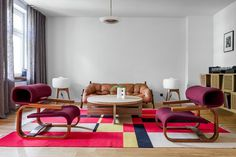 Tasteful Display of Contemporary Design in a Cozy Apartment in Szczecin, Poland