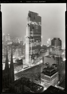 30 Rock Was Always a Hit #night #towers #architecture #fields #light