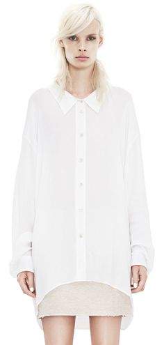 Roni light white acne studio