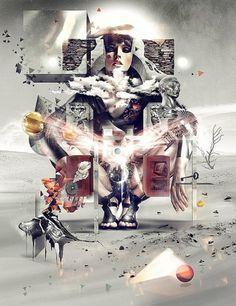 Looks like good Artworks by Sebastian Onufszak #illustration #design