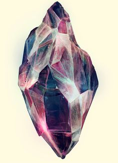 likeafieldmouse:Karina Eibatova Mineral (2010) Watercolor on paper #illustration #mineral