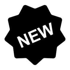 See more icon inspiration related to new, star, sticker, design, shapes and badges on Flaticon.