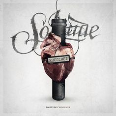 Solitude - Ricochet on the Behance Network #heart #design #cover #artwork #music #metal #love