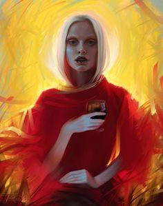 Digital Paintings by Olga Tereshenko | Cuded #digital #olga #tereshenko #paintings