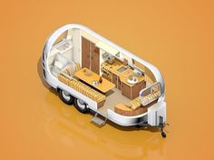 The Inspiration Stream | Veerle's blog 3.0 - Webdesign - XHTML CSS | Graphic Design #illustration #isometric #airstream