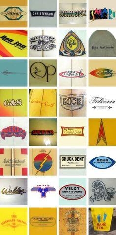 Surf #surf #branding #vintage #80s #logo