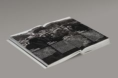 European Capital of Culture Programme Book on the Behance Network #layout #black #typography