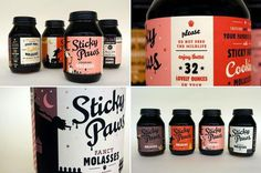 by Caleb Hasey Design #packaging #lettering #design #color