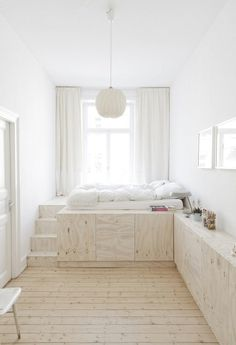 April and May #wood #bed #interior