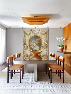 Minimalist interior design with a rigorous aesthetic
