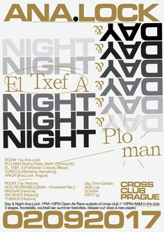 ANA.LOCK w/ El_Txef_A & Plo–Man @ Cross club, PRG