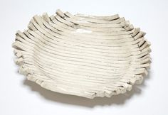 #Lined plate #ceramic