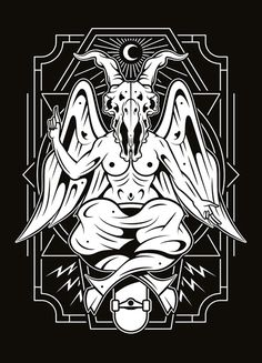 BAPHOMET #endor #endor designs #illustration #graphic design #screenprint #silkscreen
