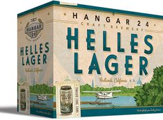 Hangar 24 Case #packaging #beer #can #label