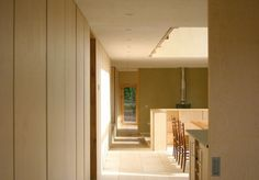 07_Feilden Fowles_Ty Pren_Entrance #timber #house #feilden #architecture #long #fowles