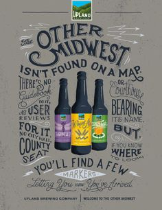 Upland Brewing Poster #beer #poster