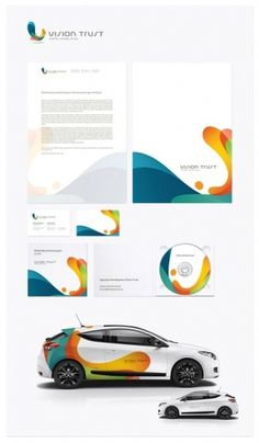 Letterhead And Logo Design Inspiration – 60+ Cool Examples | Design your way #business card #letterhead #statiionery