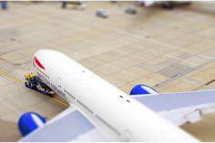 Gatwick tilt shift #model #mawdsley #gatwick #lee #tilt #photography #shift #plane #airport