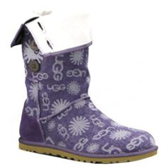 Ugg Women Denim Jacquard 100462 Purple #jacquard #women #denim #ugg