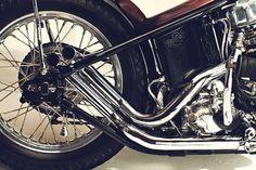 Panhead Harley-Davidson #engraving #motorcycle