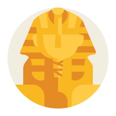 See more icon inspiration related to tourism, egypt, sphinx, landmark, cultures, architecture and city, architecture and monument on Flaticon.