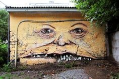 http://nomerz art.livejournal.com www.2bcreative.co.uk #teeth #mural