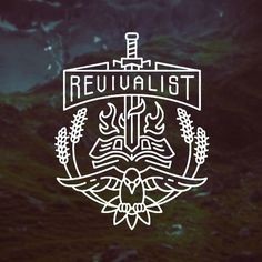 Revivalist Tutorial on the Behance Network #mark #stroke #crest #identity #logo