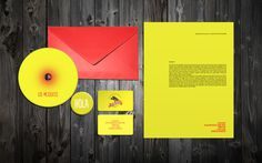 LOS MEZQUITES on Behance #business #pin #envelope #cards #cd