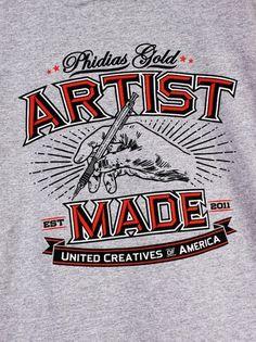 Phidias Gold #fashion #typography