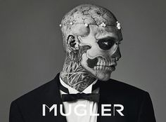 (1) Carlos Bull / Pinterest #mens #genest #tattoo #photography #rick #mugler