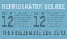 Refrigerator Deluxe Specimen