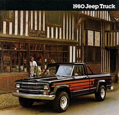 80jeeptruck #honcho #jeep #1980 #vintage #ad
