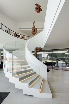 Fraião Fouse, stairs