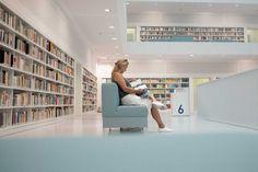 Quite Zone - Stuttgart Municipal Library by Skander Khlif