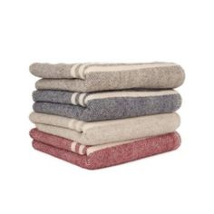 Traditionally crafted pure wool blanket is a sustainable alternative to synthetics.