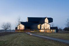 Vitra – VitraHaus 2009 | Retail | Graphic Thought Facility #architecture #minimalism